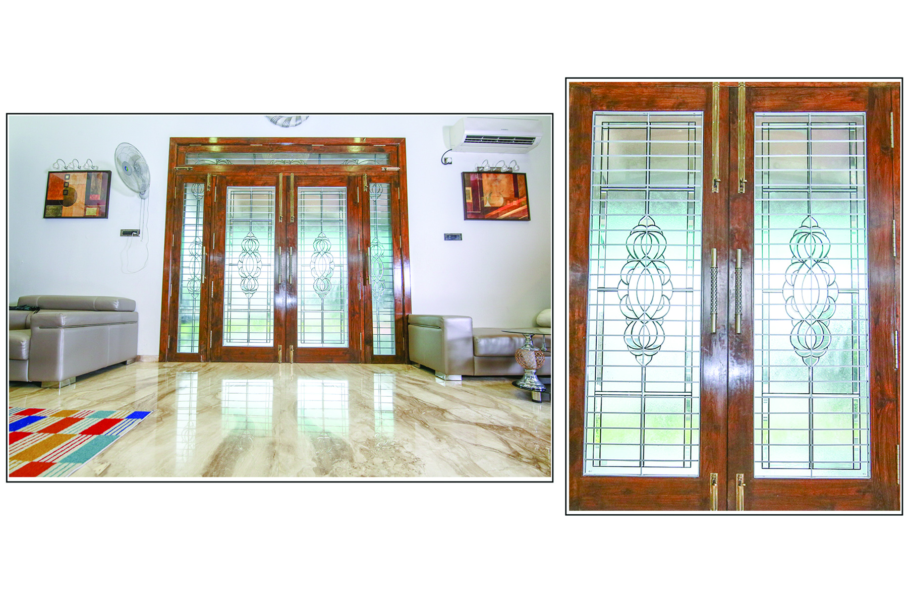 Temple glass & door – Shree Rangkala Glass Design